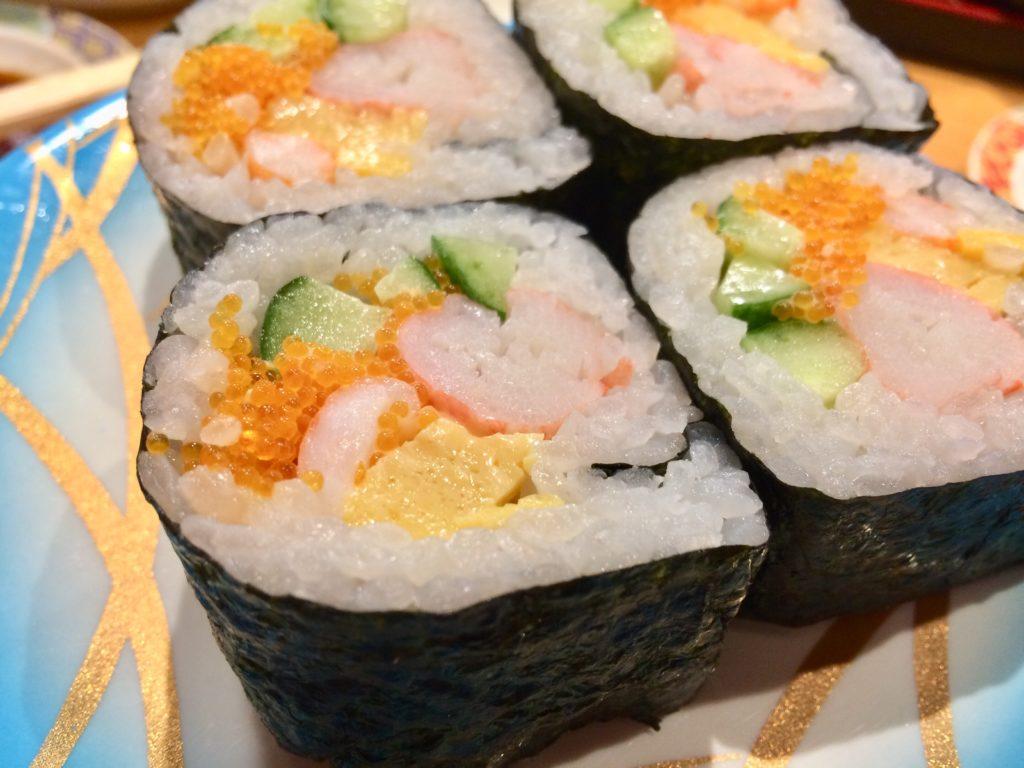 弁慶の寿司ネタ・弁慶ロール