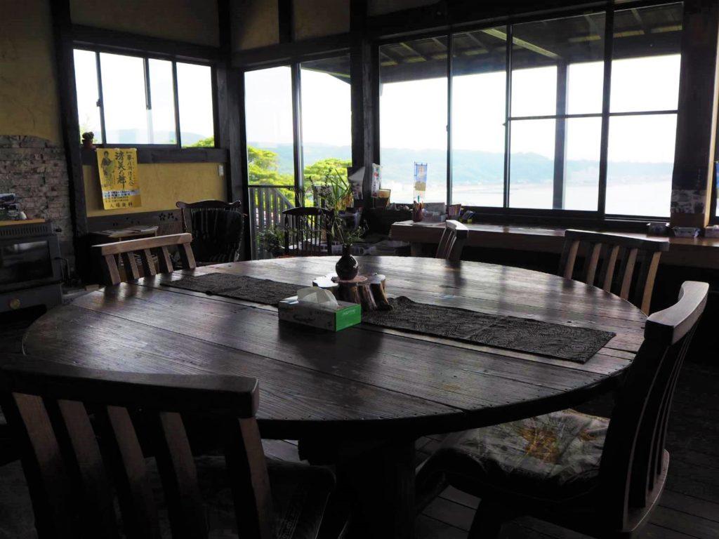 京町茶屋の室内空間・雰囲気