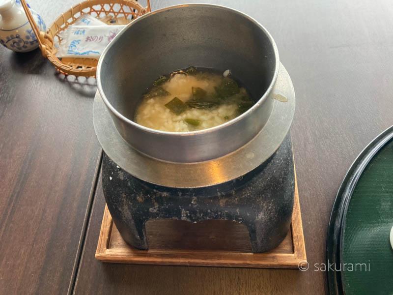 佐渡リゾートホテル吾妻の料理